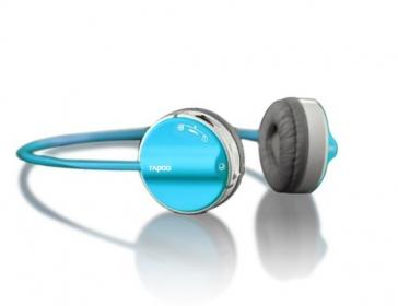 Rapoo H3050 kék-szürke mikrofonos fejhallgató (142040)