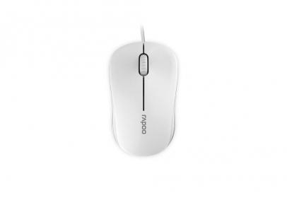 RAPOO N1130 USB optikai fehér egér (155470)
