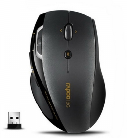 RAPOO 7800P-B wireless optikai fekete-szürke egér (142013)