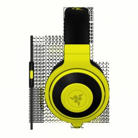 Razer Kraken Mobile mikrofonos sárga gamer headset (RZ04-01400200-R3M1)