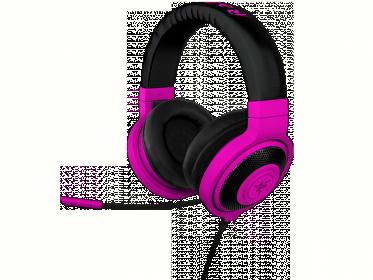 Razer Kraken Pro Neon mikrofonos lila fejhallgató (RZ04-00871300-R3M1)