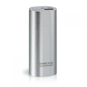 RIVACASE VA1005 Power Bank 5000mAh Ezüst (RHAVA1005)