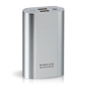RIVACASE VA1010 Power Bank 10000mAh Ezüst (RHAVA1010)