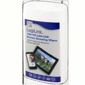 LogiLink TFT, LCD és plazma képernyő tisztító kendők (RP0010)