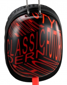 Genius HS-M470 fekete-piros mikrofonos mobil headset (31710182100)
