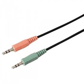 Hama Knallbaunt 2.0 mikrofonos piros-fekete headset (51651)
