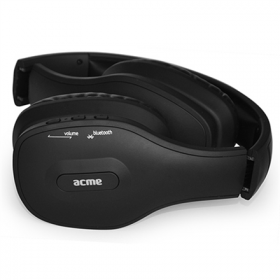 ACME BH40 bluetooth mikrofonos fekete fejhallgató (ACFHBH40)
