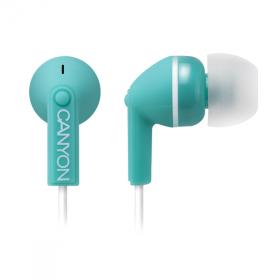 Canyon CNS-CEP01G mikrofonos zöld headset