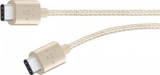 Belkin Premium Mixit Metallic USB C 2.0 arany összekötő kábel (F2CU041BT06-GLD)