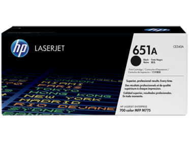 HP 651A fekete toner (CE340A)