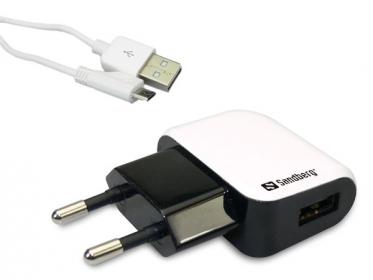 Sandberg SAHT059 micro USB hálózati töltőfej kábellel