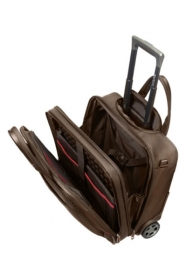 Samsonite PRO-DLX 4 ROLLING TOTE 17.3'' barna görgős notebook táska (35V-013-010)