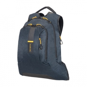 SAMSONITE NOTEBOOK HÁTIZSÁK 74774-1460, LAPTOP BACKPACK L 15,6'' (JEANS BLUE) -PARADIVER LIGHT