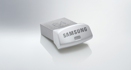 Samsung  UFD Fit 64GB USB3.0 Ezüst Pendrive (MUF-64BB/EU)