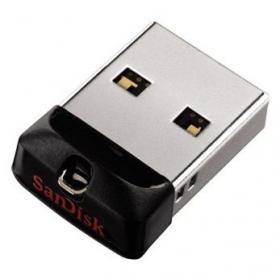 SANDISK Cruzer Fit 16GB USB2.0 Fekete Pendrive (114711)