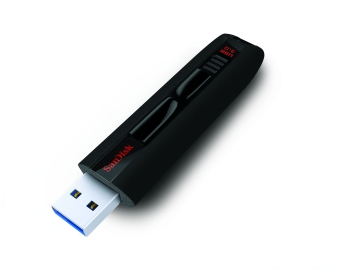 SANDISK Cruzer Extreme 64GB  USB3.0 245MB/s Fekete Pendrive (123839)