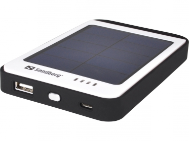 SANDBERG Solar Power Bank 6000 mAh Fehér(SAPB13)
