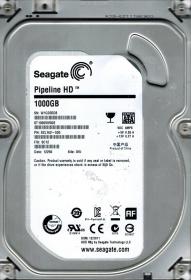 Seagate Pipeline HD 1TB 5900RPM 64MB 3,5'' SATA3 Merevlemez (ST1000VM002)