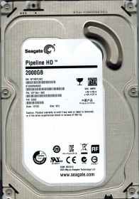 Seagate Pipeline HD 2TB 5900RPM 64MB 3,5'' SATA3 Merevlemez (ST2000VM003)
