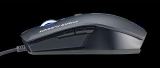Cooler Master CM Storm Devastator USB lézer fekete gamer egér (SGM-3010-KKMF1)