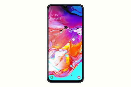 Samsung A705F GALAXY A70 Fekete 128GB Dual Okostelefon (SM-A705FZKUXEH)