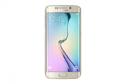 SAMSUNG Galaxy S6 Edge G925F 128GB Arany Okostelefon (SM-G925FZDFXEH)