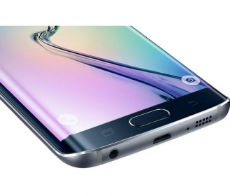 SAMSUNG Galaxy S6 Edge G925F 32GB Fekete Okostelefon (SM-G925FZKAXEH)