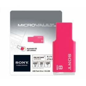 Sony MicroVault Style 8GB USB2.0 Rózsaszín Pendrive (USM8GMP)