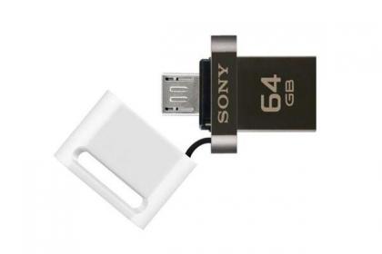 Sony MicroVault OTG 64GB USB3.0+microUSB Fehér Pendrive (USM64SA3W)