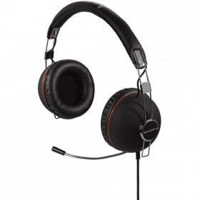 HAMA Sonority mikrofonos fekete headset (51654)