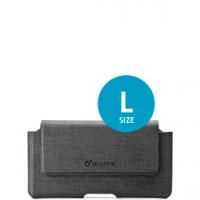 Cellularline ACTIESSENTIAL ''L'' szürke övre rögzíthető telefontok (ACTIESSENTIALL)
