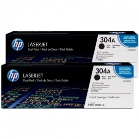 HP 304A fekete 2 db-os toner (CC530AD)