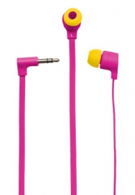 Trust Flash Reflecting In-ear mikrofonos pink headset (19934)