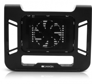 Canyon CNR-FNS01 17'' USB fekete notebook hűtő
