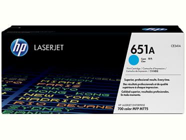 HP 651A ciánkék toner (CE341A)