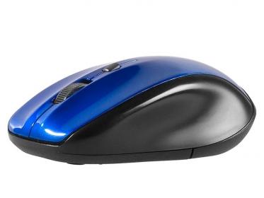 Tracer StoneX Blue RF wireless optikai kék-fekete egér (TRAMYS44905)