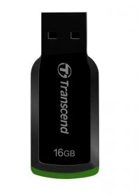 Transcend JetFlash 360 16GB USB2.0 Fekete-Zöld Pendrive (TS16GJF360)