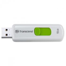 Transcend JetFlash 16GB USB2.0 Fehér-Zöld Pendrive (TS16GJF530)