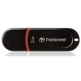 Transcend JetFlash 300 2GB USB 2.0 Fekete Pendrive (TS2GJF300)