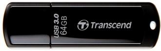 Transcend JetFlash 700 64GB USB3.0 Fekete Pendrive (TS64GJF700)