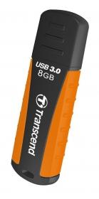 Transcend JetFlash 810 8GB USB3.0  Fekete-Narancssárga Pendrive (TS8GJF810)