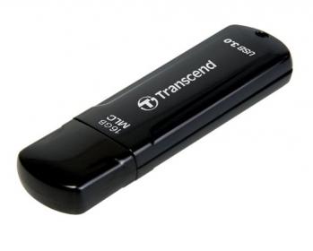 Transcend JetFlash 750 16GB USB3.0 Fekete MLC Pendrive (TS16GJF750K)