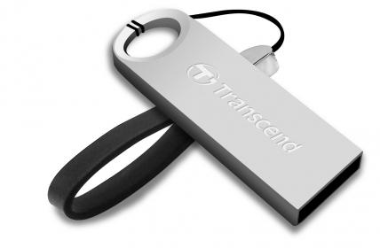 Transcend JetFlash 520S 32GB USB2.0 Ezüst Pendrive (TS32GJF520S)