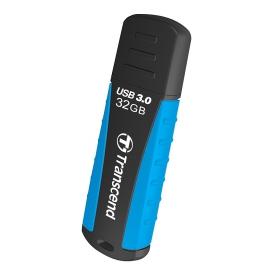 Transcend JetFlash 810 32GB USB3.0 Fekete-Kék Pendrive (TS32GJF810)