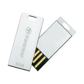 Transcend JetFlash T3S 32GB USB2.0  Ezüst Pendrive (TS32GJFT3S)