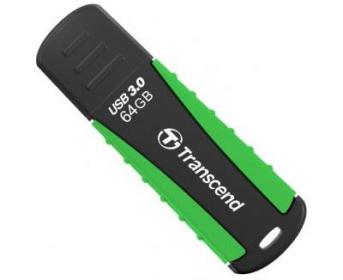 Transcend JetFlash 810 64GB USB3.0 Fekete-Zöld Pendrive (TS64GJF810)