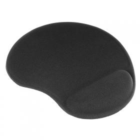 TRACER TRAPAD42183 zselés csuklótámaszos fekete egérpad