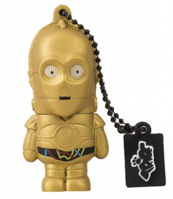 TRIBE STAR WARS C-3PO 8GB USB2.0 Pendrive (FD007406)