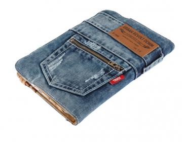Trust Jeans Folio Stand 7''-8'' Kék Tablet Tok (19481)