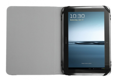 Trust Ruo Rotating Cover 10'' Fekete Tablet Tok (19550)
